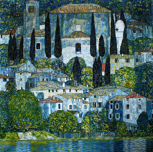 La chiesa di Cassone (Gustav Klimt, 1913)
