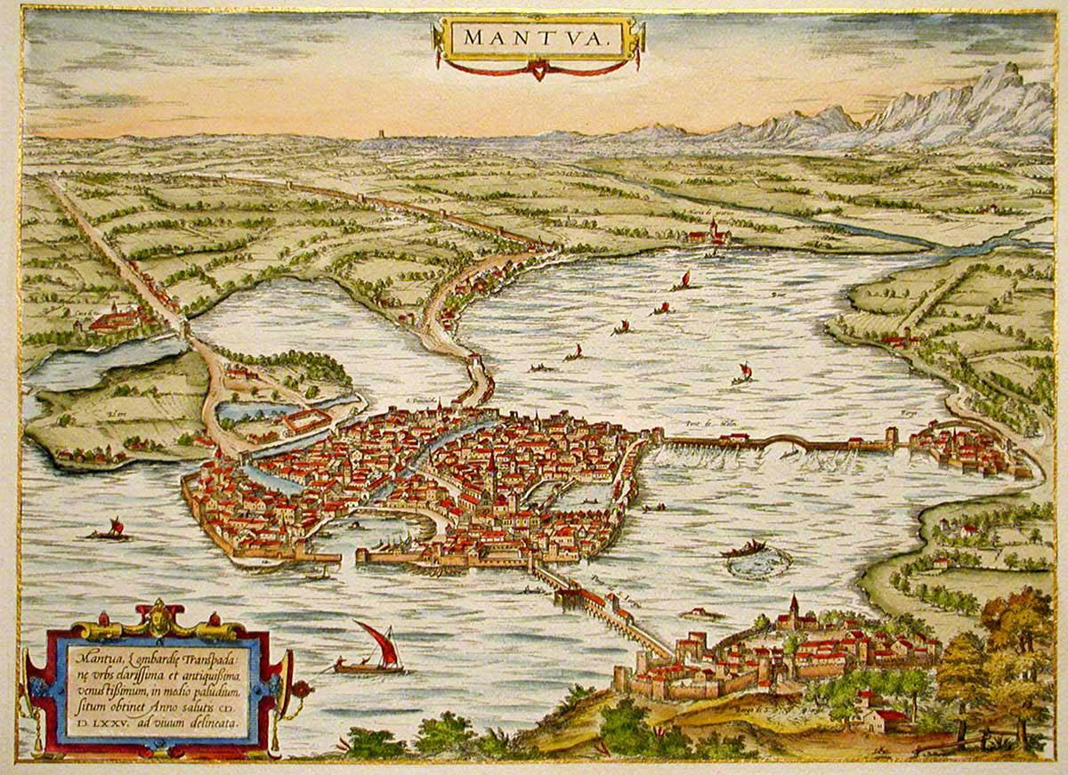 La Mantova del 1535